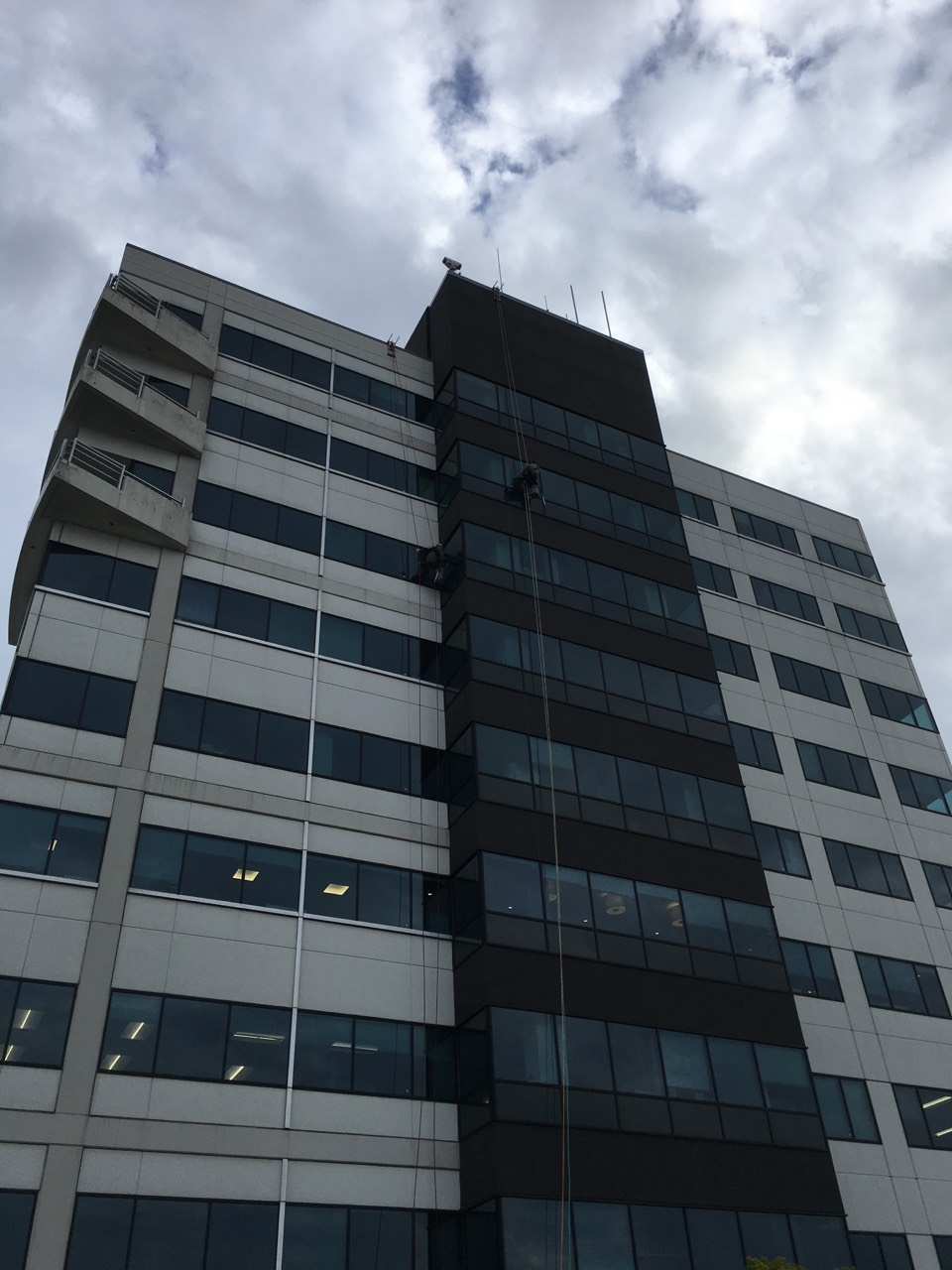 We Cleaned A Building In Everett Key Bank Tower Skywc
