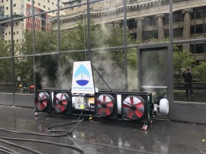 Cleaned building in Portland, Oregon