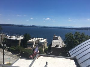 Window cleaning in Seattle - Triplex