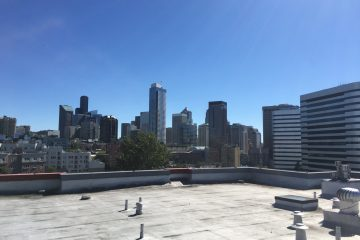 Exterior window cleaning in Capital Hill, Seattle