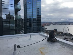 The Charter Hotel Downtown Seattle - abandoned conduit removal