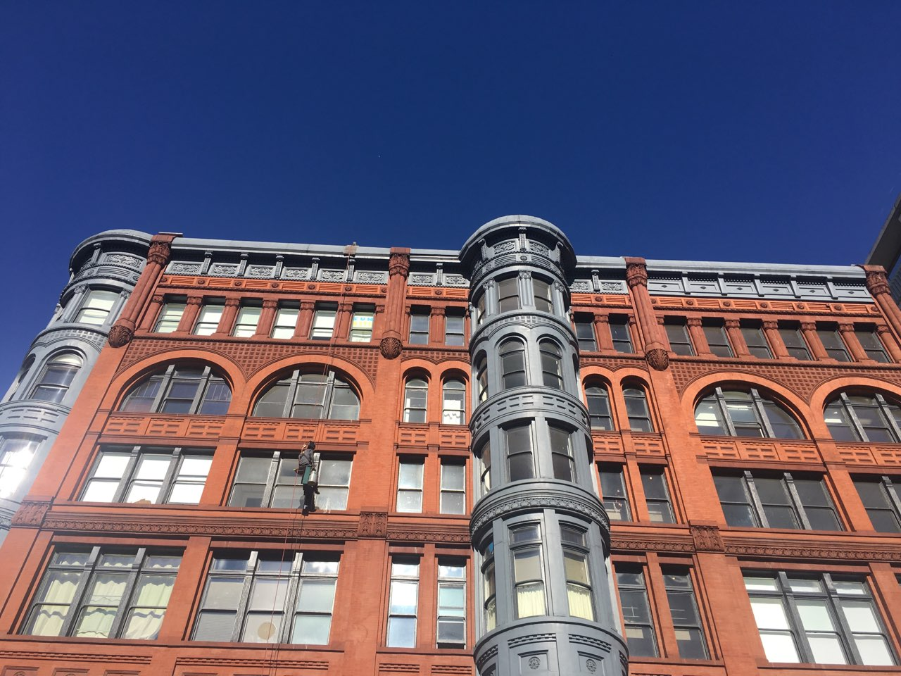 The Pioneer Building Seattle Wa Exterior Window And
