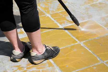Pressure washing can remove graffiti and paint stains too, which are not only unsightly but also one of the most difficult things to clean.