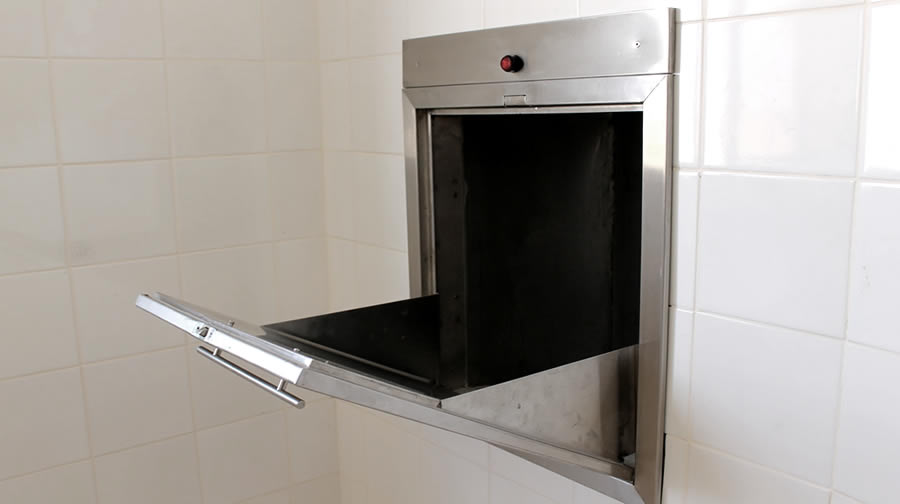 Trash chute cleaning services