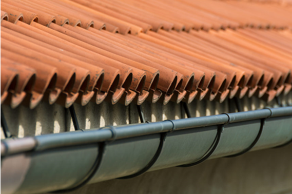 How do you clean gutters with gutter guards?