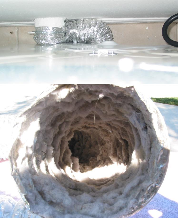 Lint, dirt and debris accumulate over time inside dryer vents and that is inevitable.
