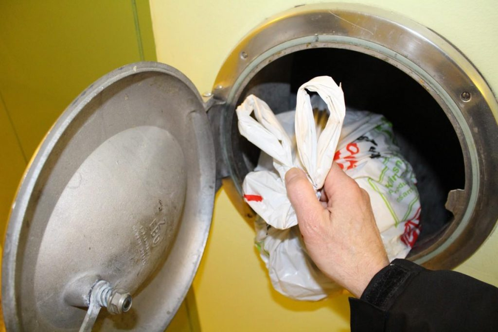 What is trash chute cleaning?