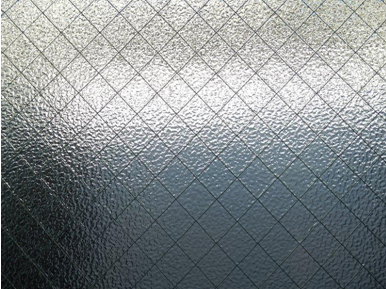 What is the best method for cleaning frosted glass?